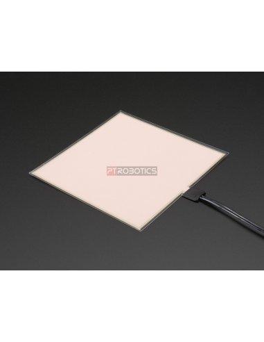 Painel Eletroluminescente (EL) - 10cm x 10cm Branco