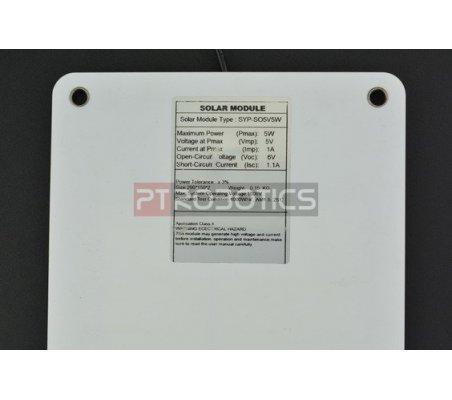 Painel Solar Monocristalino Semi-flexível 5V 1A