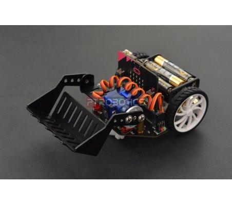 micro: Maqueen com Pá Mecânica