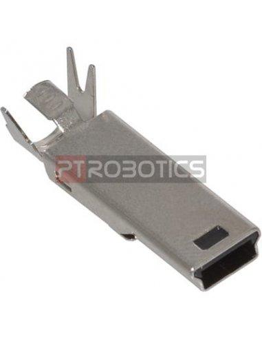Ficha DIY Mini USB Tipo B Macho