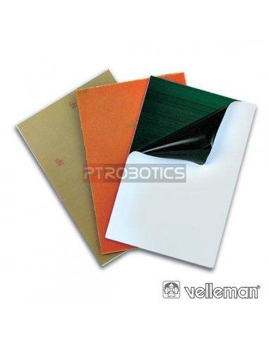 Placa de Circuito Impresso Pré-Sensibilizada Fibra Vidro 1 Lado 230x220mm - Velleman PFS4