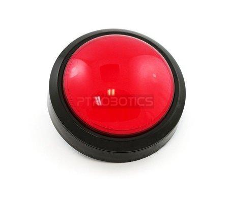 Big Dome Push Button - Vermelho | Push Button |