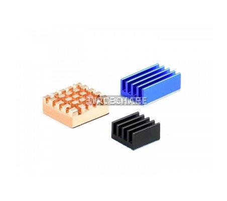 Kit Colorido de Dissipadores de Calor para Raspberry Pi 4B/3B+