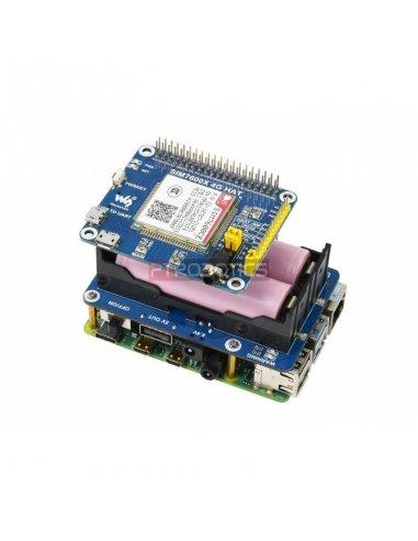 Waveshare UPS HAT 18650 para Raspberry Pi
