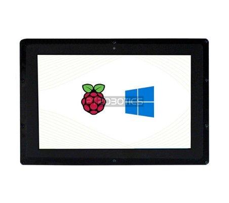 """Ecrã LCD IPS Táctil 10.1"""" HDMI 1280×800 com moldura"""