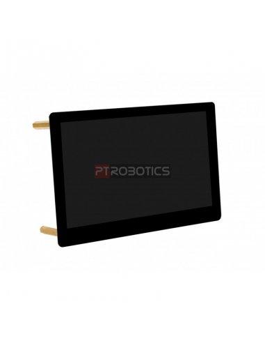 "Waveshare Display 5"" AMOLED 960x544 HDMI Vidro Laminado"