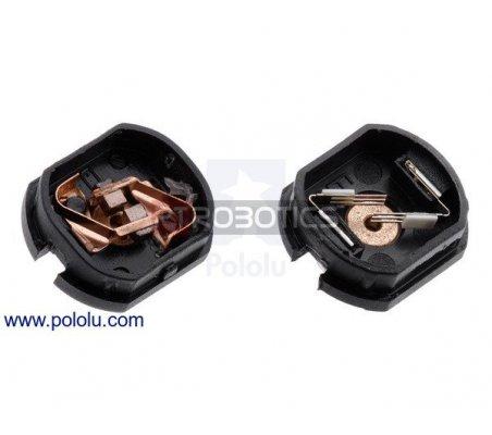 15:1 Micro Metal Gearmotor HPCB 6V com Extended Motor Shaft