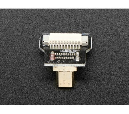 Cabo DIY HDMI: Ficha Adaptadora Micro HDMI 90º (R Bend)