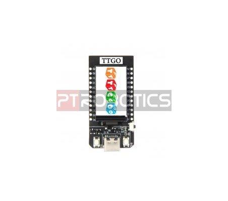 Módulo TTGO ESP32 Wifi e Bluetooth c/ Display 1.14 USB C 4MB para Arduino