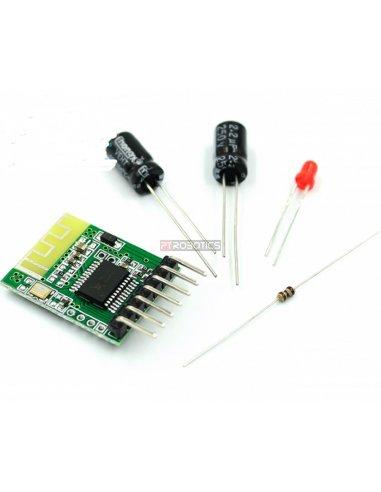 Kit de Eletrónica DIY - Módulo Audio Bluetooth 4.0