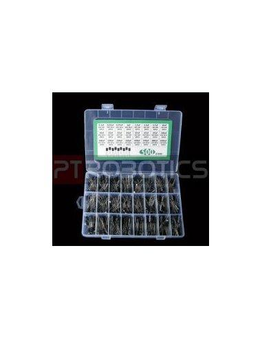 Kit de Condensadores Eletrolíticos PTRobotics com Caixa - 500pcs