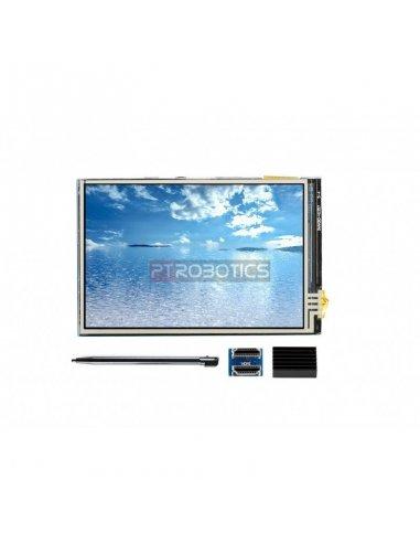 Ecrã IPS Tátil Resistivo 3.5 Polegadas 480x320 para Raspberry Pi