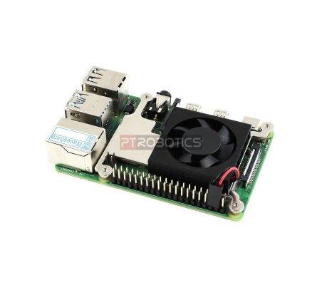 Ventoinha para Raspberry Pi 3 e 4 - 30x30x7mm