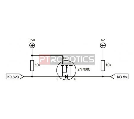 Conversor Bidireccional 3.3V-5V - Eletrónica Essencial