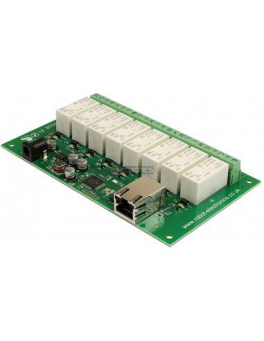 ETH008 - Módulo de Relés Ethernet 8x16A