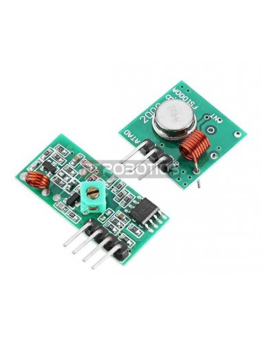 433Mhz transmitter and receiver module