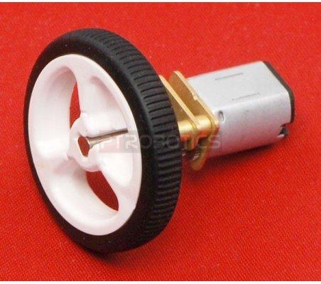 Wheel 32x7mm Pair - Branco | Rodas para Robôs |