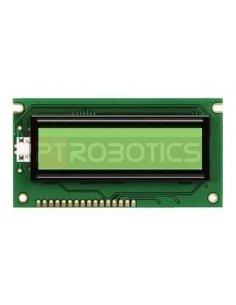 LCD 16x2 Powertip PC1602LRS-FWA-B-Q