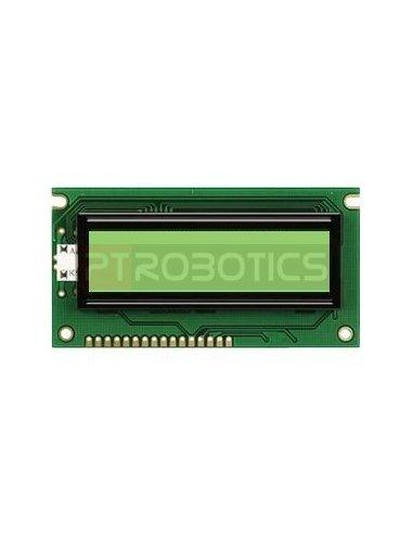 LCD 16x2 Powertip PC1602LRS-FWA-B-Q | LCD Alfanumerico |