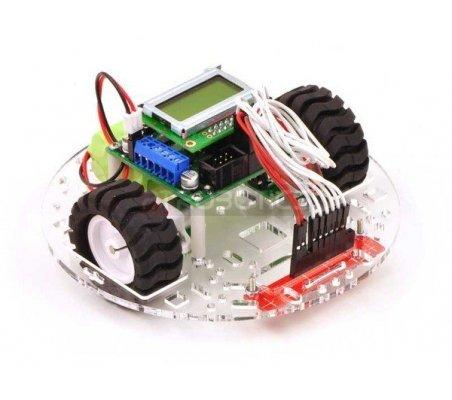 Pololu 5 Robot Chassis RRC04A Solid Black   Chassi de Robo  