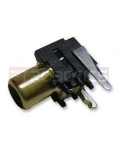 Chassis Phono RCA Socket PCB Black