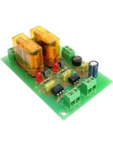 OPTO-COUPLED MODULE WITH 2 RELAY OUTPUTS T5 | Relés | CEBEK