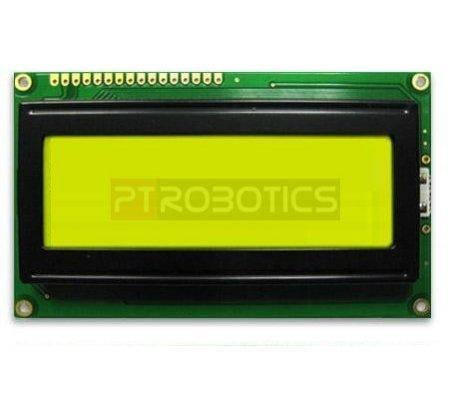 LCD 20x4 Verde NHD-0420DZ-FL-YBW   LCD Alfanumerico  