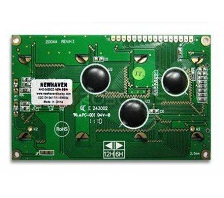 LCD 20x4 Azul NHD-0420DZ-NSW-BBW | LCD Alfanumerico |