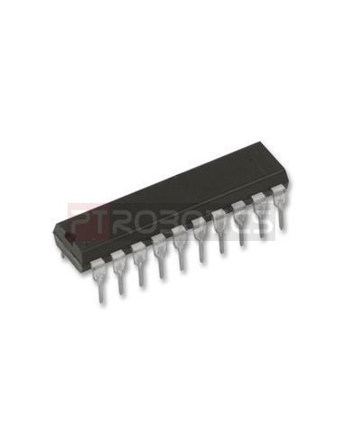 74HC595 - 8-Bit Shift Registers With 3-State Output Registers