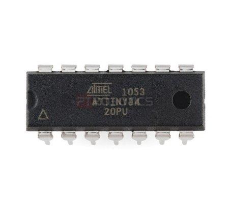ATtiny84 - AVR 14 Pin 20MHz 8K | ATMEL | Atmel
