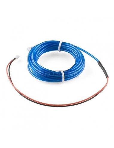 EL Wire - Azul 3m | El-Wire - Fio Electroiluminescente |