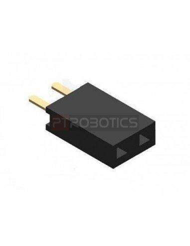 PCB Socket 2Pin Single Row