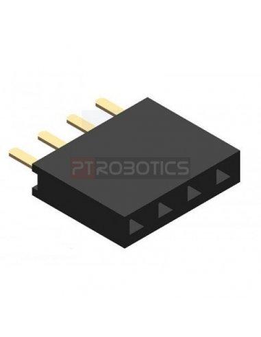 PCB Socket 4Pin Single Row | Headers e Sockets |
