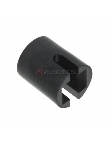 Switch Cap for Push Button Round Black