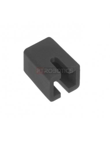 Switch Cap for Push Button Square Black