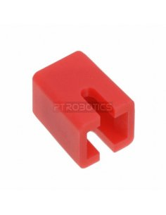 Switch Cap for Push Button Square Red