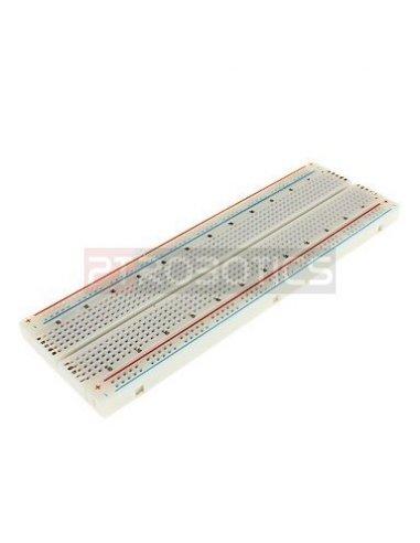 Breadboard 830 Pontos Branca