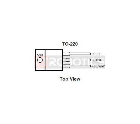 LD33 - LM1117 - 3,3V Voltage Regulator | Regulador de Voltagem