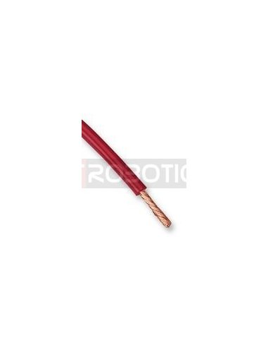 Wire TPE Red 1m 20AWG