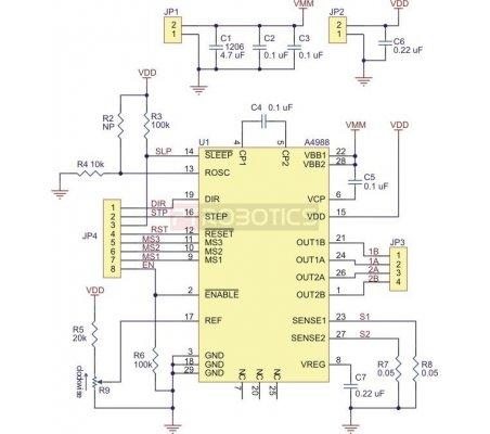 A4988 Stepper Motor Driver Carrier | Pontes H |