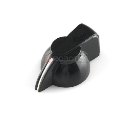 Black Chicken Head Knob - 14x20mm | Botões |
