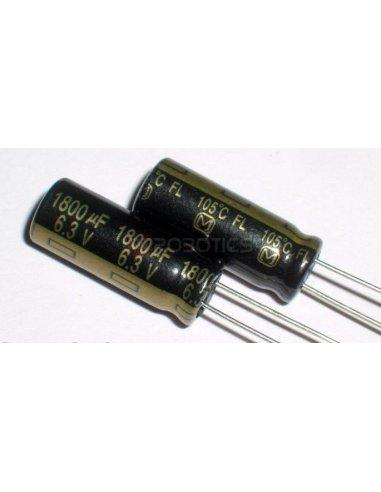 Condensador Electrolítico 1800uf 6.3V | Condensador Electroliticos |