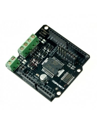 2A Motor Shield For Arduino | Pontes H |