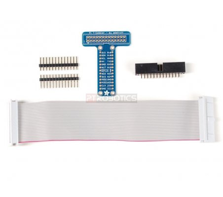Adafruit Pi T-Cobbler Breakout Kit for Raspberry Pi | HAT | Placas de Expansão Raspberry Pi |