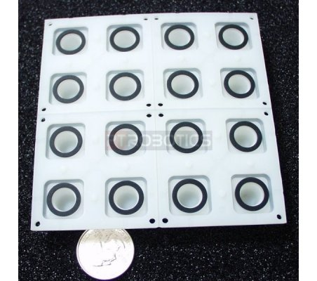 Button Pad 4x4 - LED Compatible | Keypad Dil Reed |