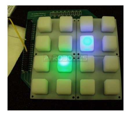 Button Pad 2x2 - LED Compatible | Keypad Dil Reed |