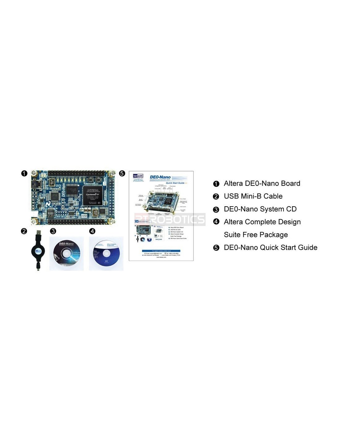 Manual de0-nano development and education board