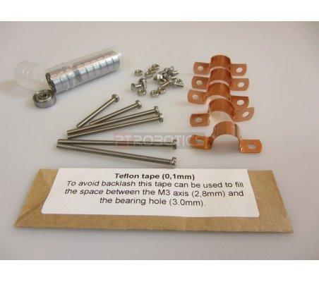 Makerbeam - Hinge bearing kit