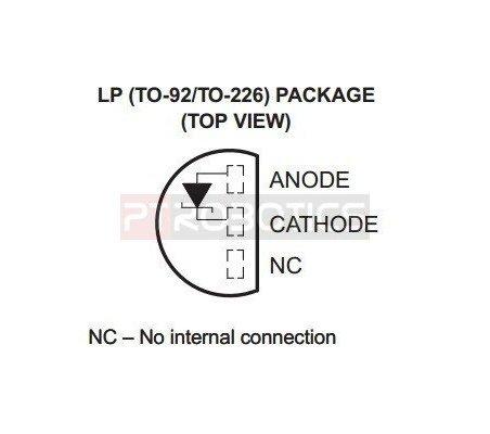 LM4040C41 - 1% 4.096V Precision Voltage Reference | Circuitos Integrados |