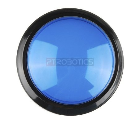 Big Dome Push Button - Blue | Push Button |